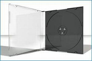 Slimline Box Tray Noir - 100 pièces  Boite/Box