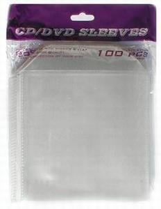 CD/DVD Prosleeves avec languette -100 pièces  Pack